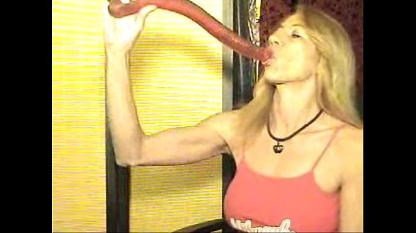 Ugly girls with dildos — photo 1