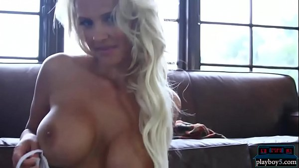 Amazing busty playmates showing off their hot bodies