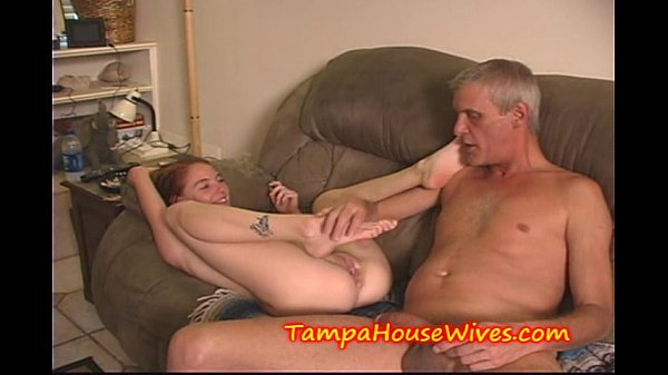 Teen DAUGHTER gets CREAMED by a OLD DADDY Thumb