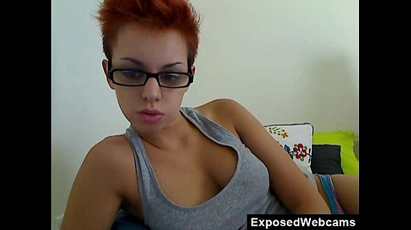 Busty Araxie Strips And Fucks Herself