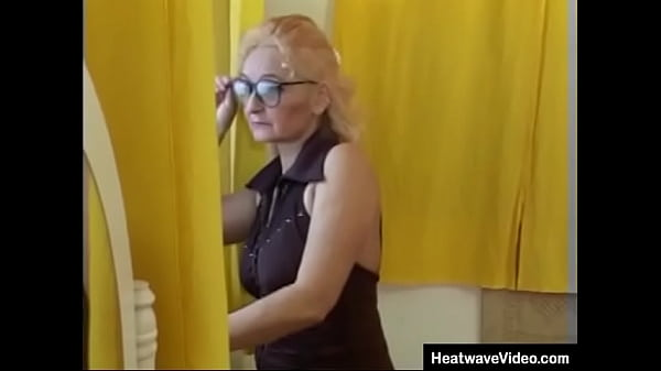 Horny and sexually frustrated old woman fucked by young neighbor