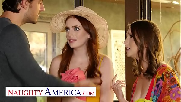 Naughty America - Izzy and Maya skip the pool p...