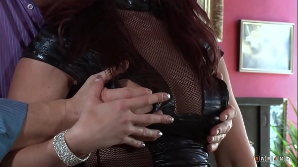 Beautiful and Seductive Slut with Latex Outfit takes his Cock Thumb