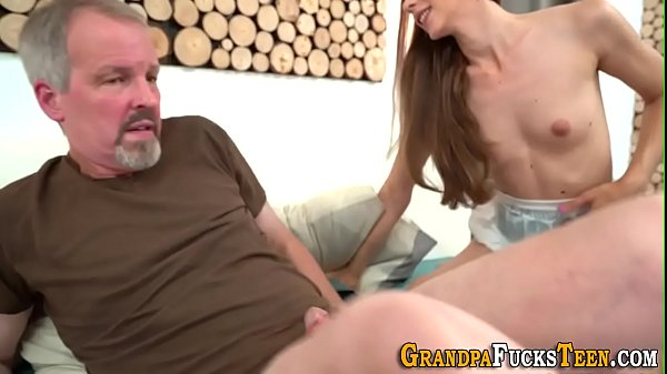 Teen covered in old cum Thumb
