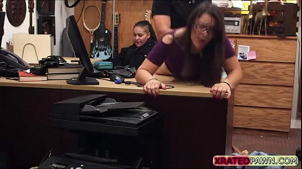 Pawn shop buys sex from straight guy