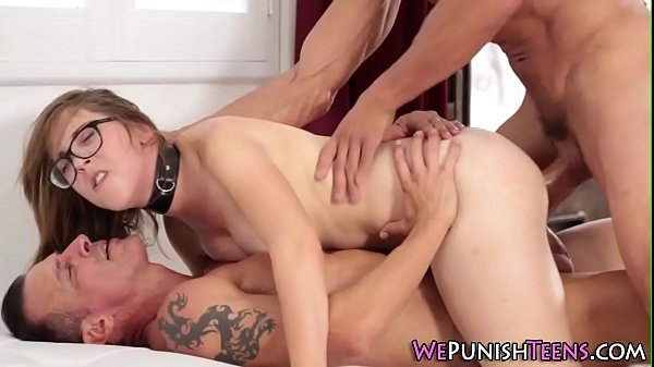 Teen gets double cocked