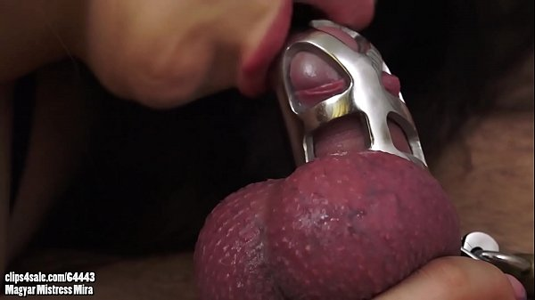 MIRA CUCKOLD - Locked And Suffering - Suck And Fuck In Chastity
