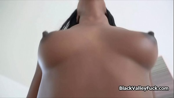 Fine black pussy as a reward for finding lost phone Thumb