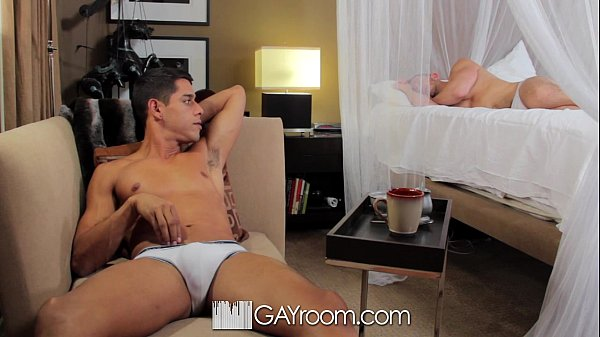 GayRoom - Bryan Cole's pierced cock sucked and ...