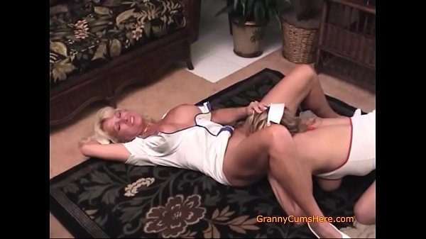 Mature Nurse Shows Her Student What She Likes