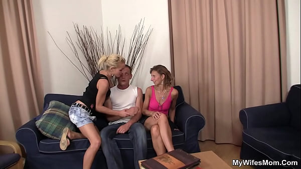 Hairy pussy mother in law into taboo sex