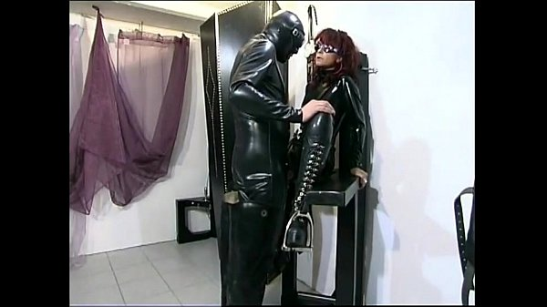 Horny domina gets fucked by her slave