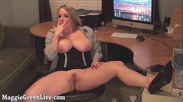 Big Titty Maggie Green is The New Office Slut