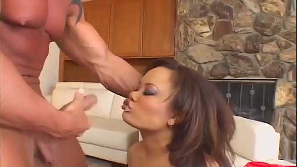Annie Cruz gets fucked hard in the kitchen while the landlord Thumb
