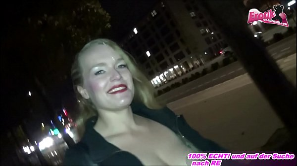 WALK WITH CUM IN FACE PUBLIC FACIAL - GERMAN MILF Thumb