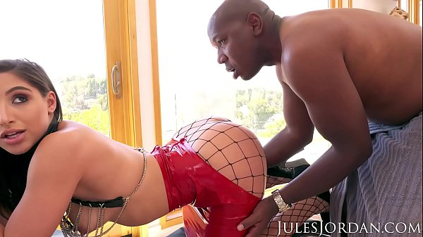 Jules Jordan - Abella Danger's Ass Has A Date With Mandingo's 14 Inch Big Black Cock Thumb