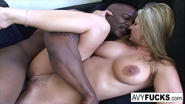 Busty Avy has another round of fun with Nat Turner