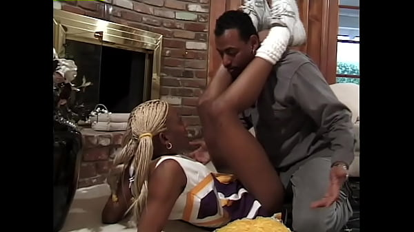 Ebony Cheerleaders #3 - Anyone with a taste for hot black cheerleaders will love this clip