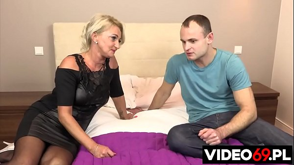 Polish porn - Fucking mature mom with big boobs
