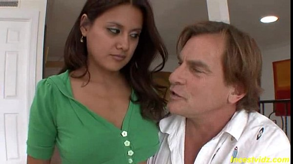 Bad stepfather fucks tight pussy his beauty bru...
