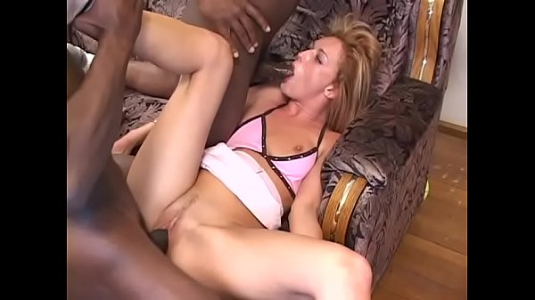Couple of dudes from ghetto clearly demonstrate curiuos blonde floozie Donna Marie what can happen with white chick in Black Belt