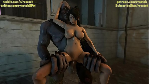 Momiji fucked hard by Cyclop Monster 3D Animation