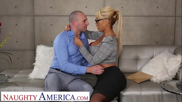 Naughty America Bridgette B. fucks married man ...