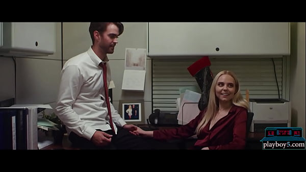 Office romance with two co workers during a Christmas party Thumb