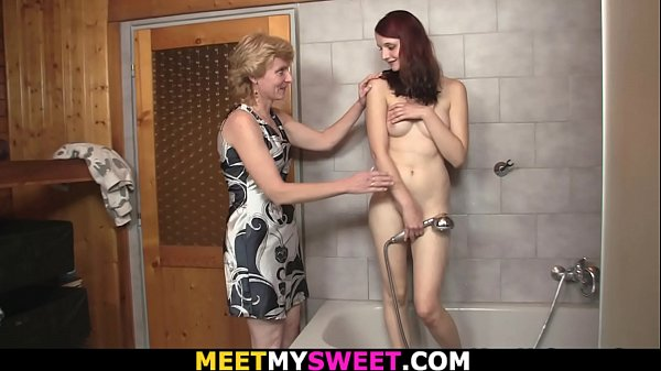 m.-in-law toying her young cunt