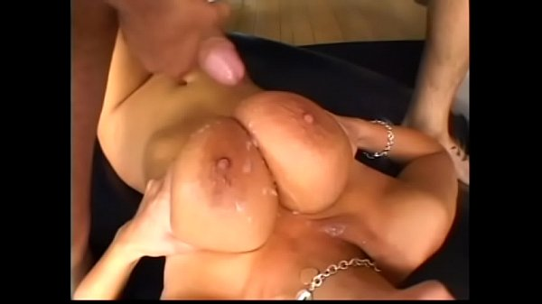 Sexy latina brunette slut Carmella Bing get her asshole drilled and titties fucked by big cock