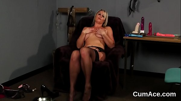 Wicked centerfold gets cum shot on her face swallowing all the juice