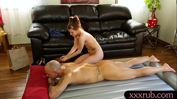 Small tits masseuse banged by her client