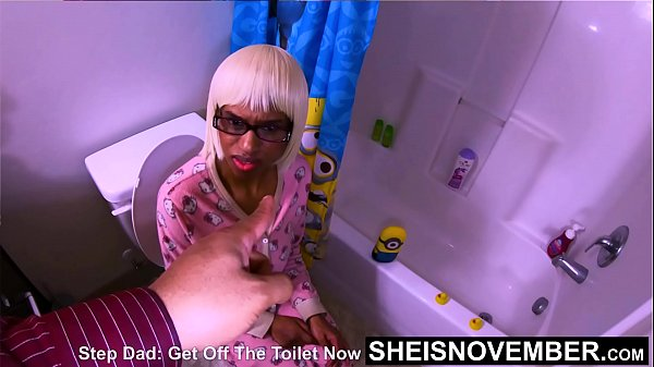 Extreme Painful Daddy StepDaughter Bonding With Dripping Creampie, PainfulSex, EbonyUrination, And Painful Arm Twisting Harcore Doggystyle While Fucking On The Toilet With RidingCumshot Reality Taboo Step Famlly Porn on Sheisnovember