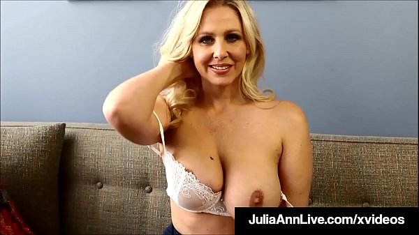 Potty Mouth Milf Teacher Ms. Julia Ann Gives JOI!