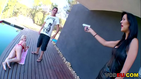 Young guy fucks a mommy outdoor