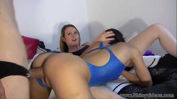 Jess West Cherry big dick threesome Part 2