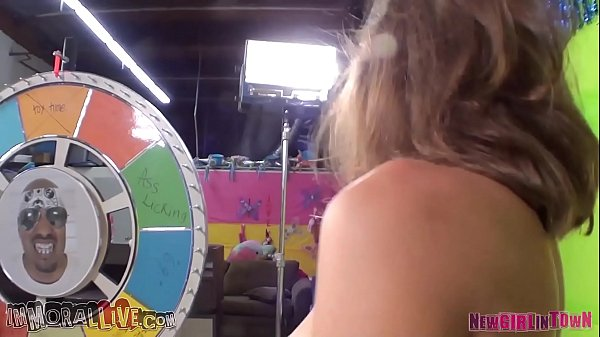 RILEY REID in The GREATEST GAME SHOW Ever!
