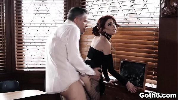 Lola Fae is a horned up and punked out school girl that landed her slutty ass in detention under the watchful eye of her horny professor Mick Blue