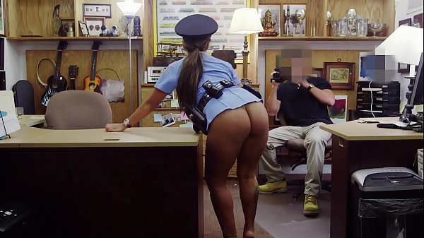 XXX PAWN - Big Booty Latin Police Woman Despera...