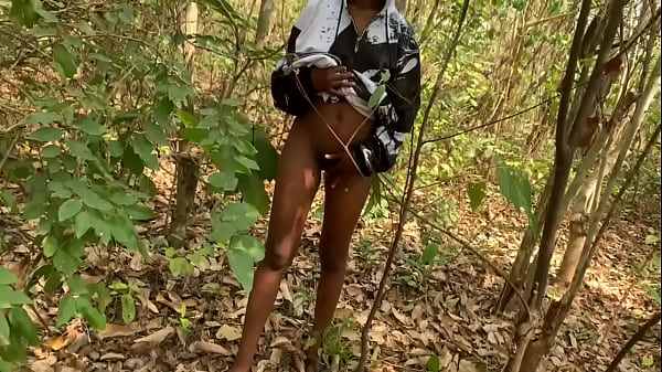 Naijaprincess seduced and fuck a forest guard on school tour(Outdoor sex) Thumb