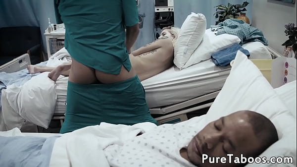 Tattooed young babe fucked in the hospital