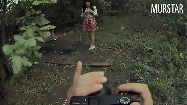 Divorced the student for intimate photos, and fucked in the woods || Murstar Thumb