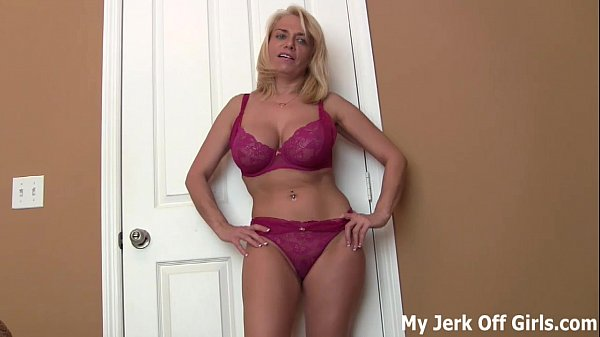 You can jerk your cock to my perky tits JOI