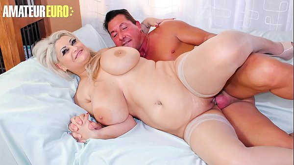 AMATEUR EURO - #Nadia - Hot Italian BBW MILF Gets Rammed On Cam By Horny Passioante Lover