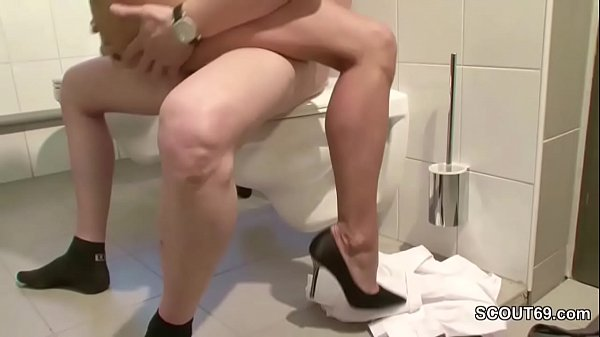 German Skinny MILF Seduce to Fuck by Stranger Thumb