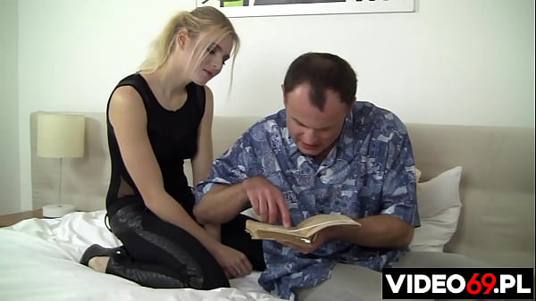 What a fucking comedy! Her backward boyfriend bases his knowledge of sex on a pre-war book!