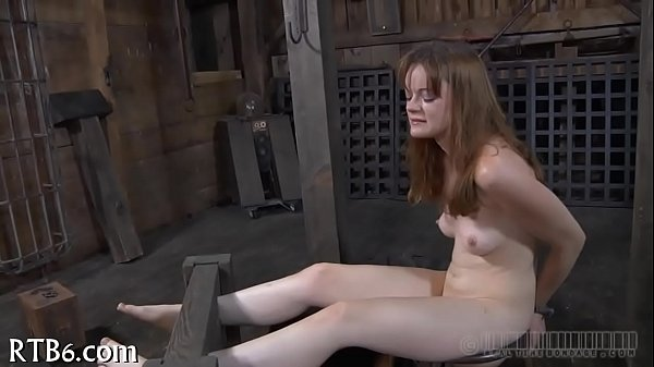 Zealous ass whipping for chick