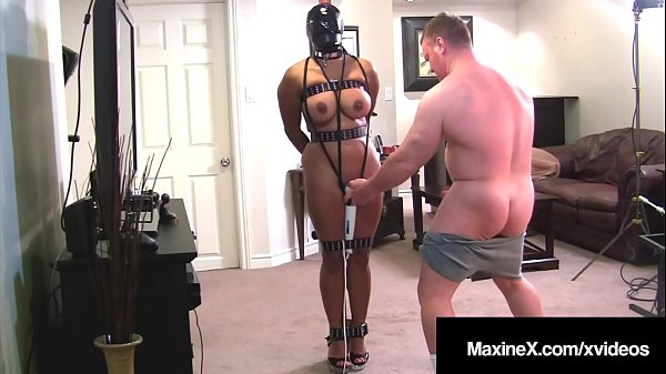 Busty Asian Mommy Maxine X Bound & Fucked From Behind! Thumb