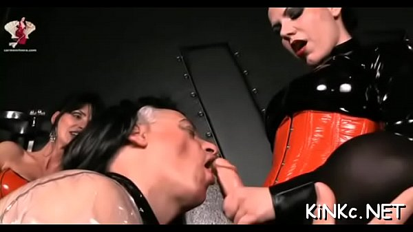 Undressed mistress rocks your world when domina...