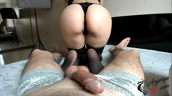 Girl Sucks Cock, Jumps On Top and Guy Can't Resist and Cum Thumb